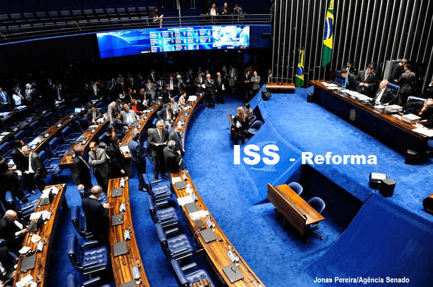 Reforma Do ISS Está Na Pauta Do Plenário